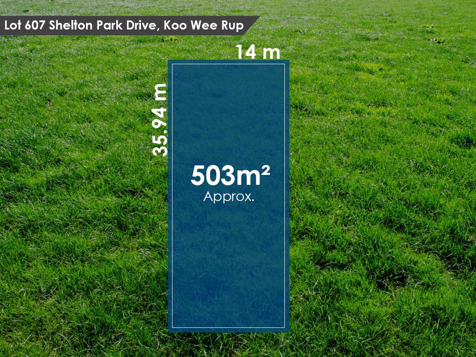 Lot 607 Shelton Park Drive, Koo Wee Rup, VIC 3981