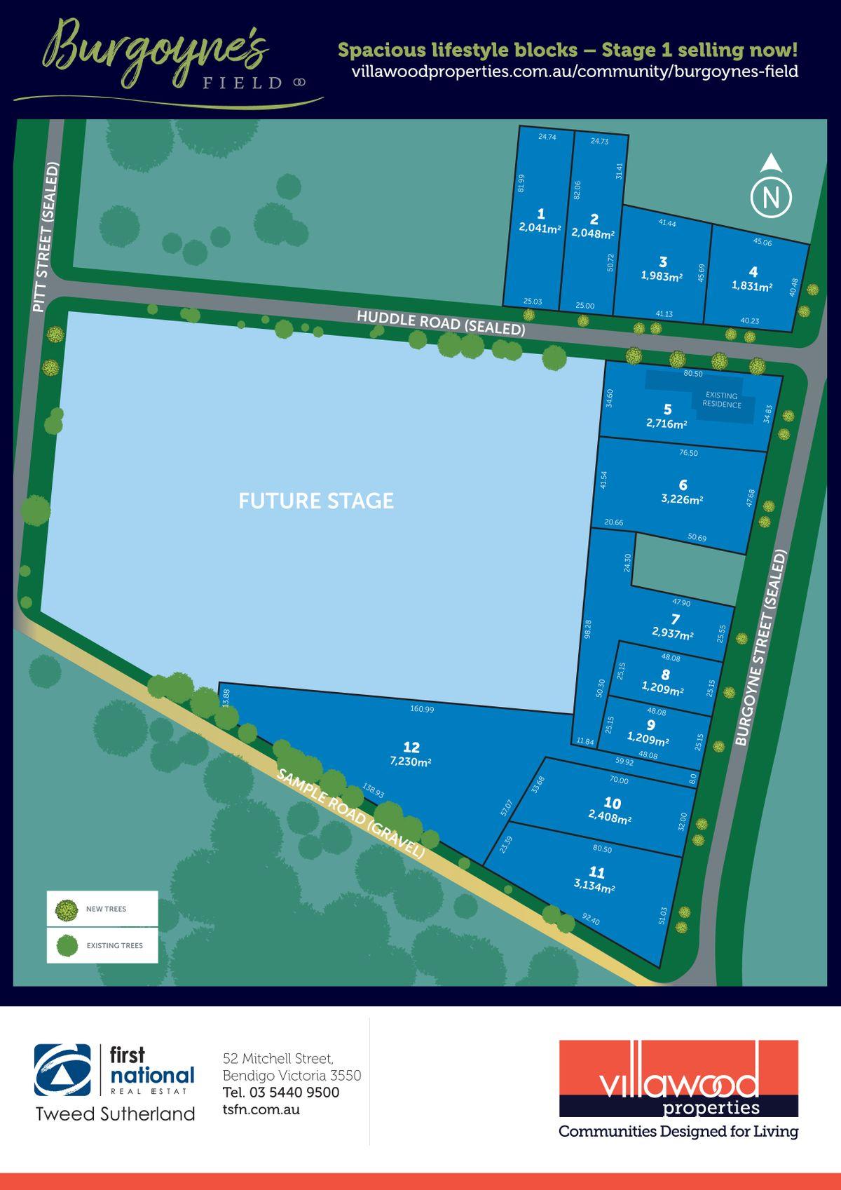 Stage 1  Burgoynes Field Estate, Huntly, VIC 3551