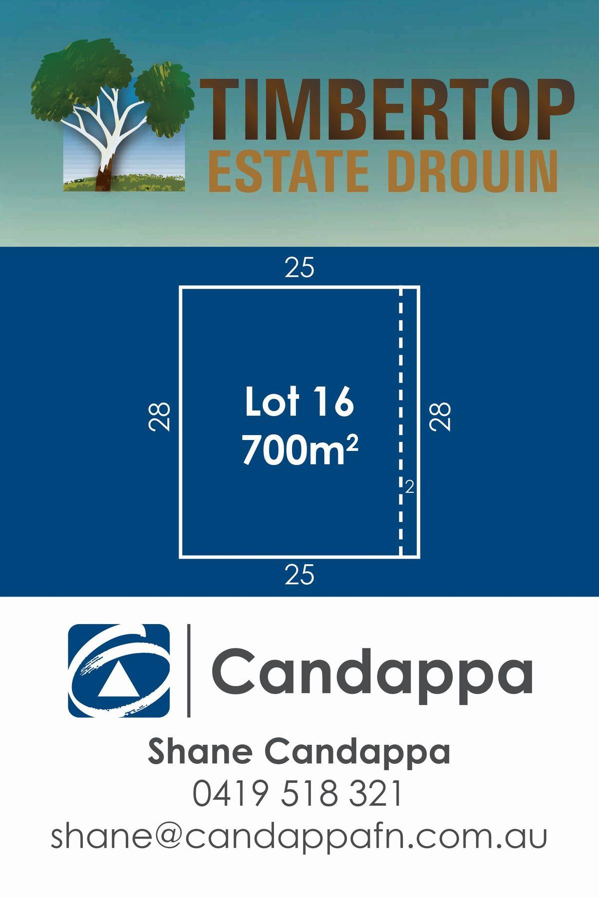33 (LOT 16) Timbertop Crescent, Drouin, VIC 3818