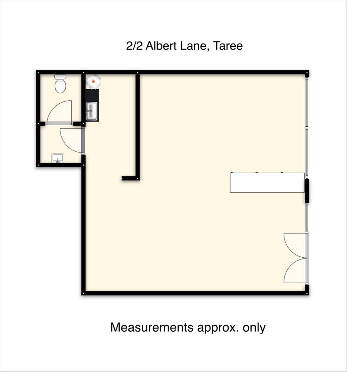 2/2 Albert Lane, Taree, NSW 2430