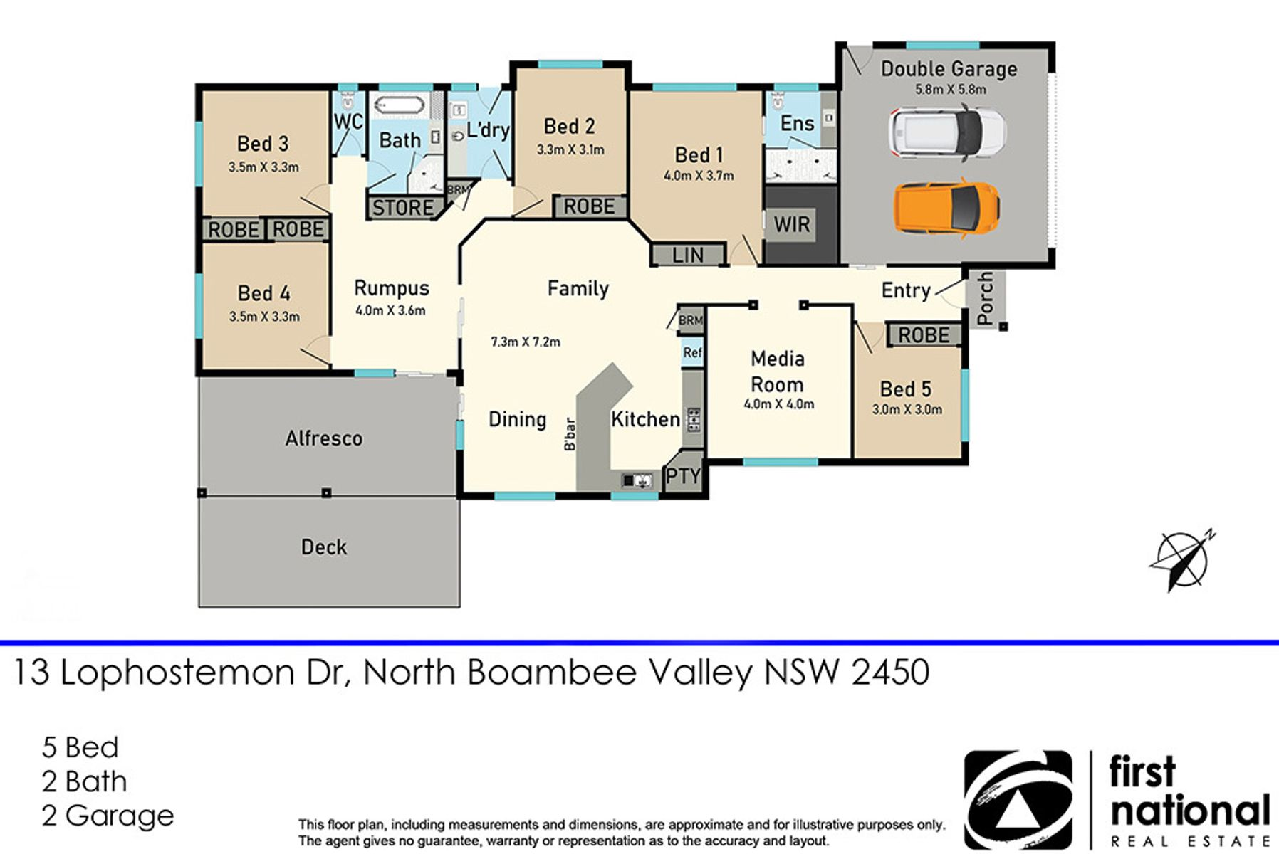 13 Lophostemon Drive, North Boambee Valley, NSW 2450