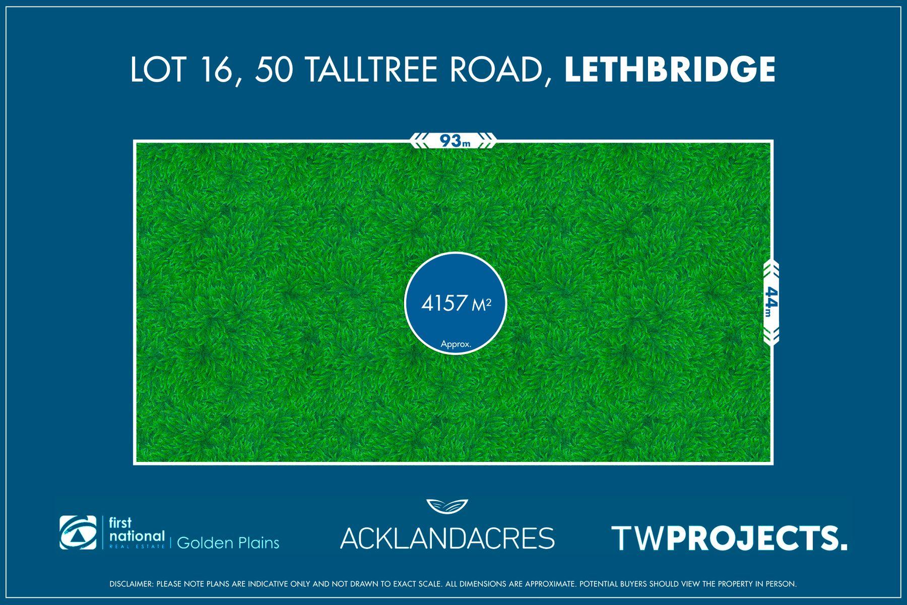 Lot 16, 50 Tall Tree Road, Lethbridge, VIC 3332