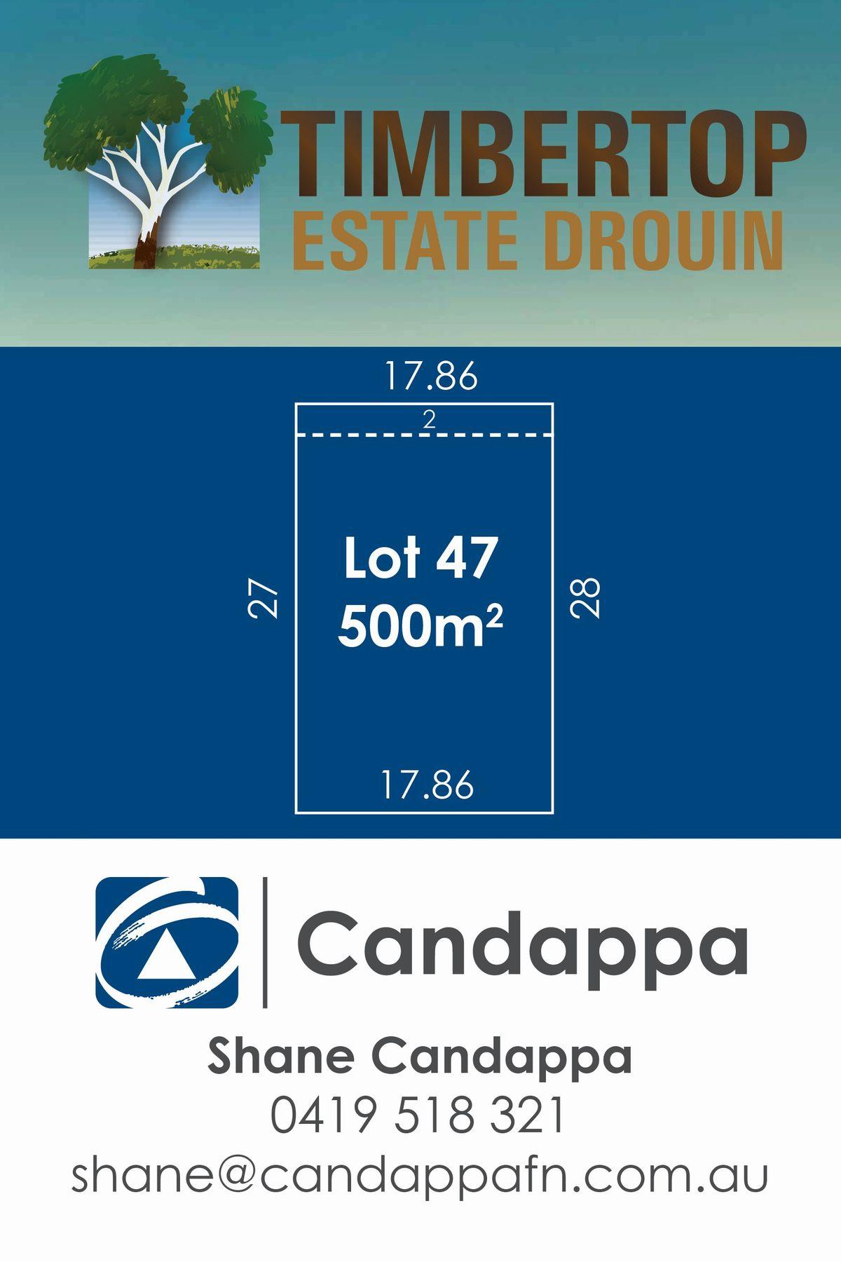 8 (LOT 47) Timbertop Crescent, Drouin, VIC 3818