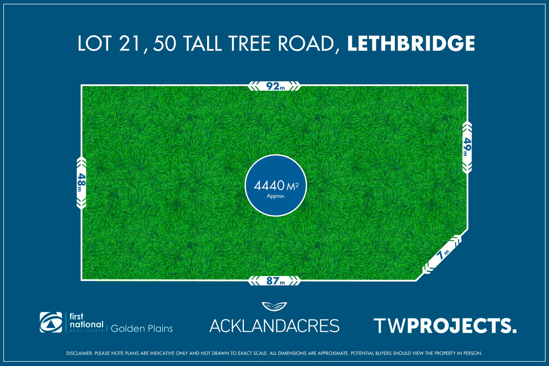 Lot 21, 50 Tall Tree Road, Lethbridge, VIC 3332