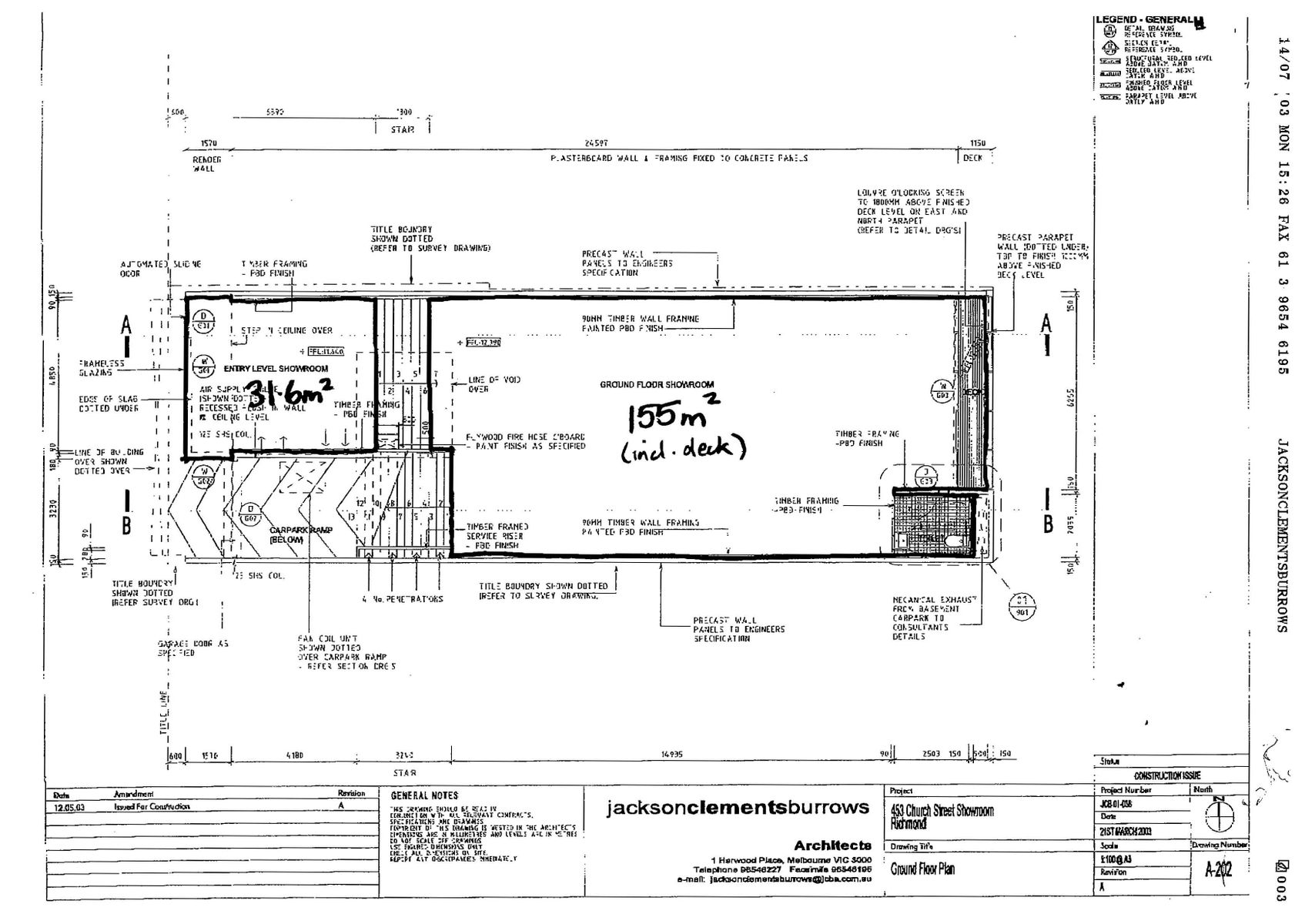 Building Plans Page 1 Ground Floor