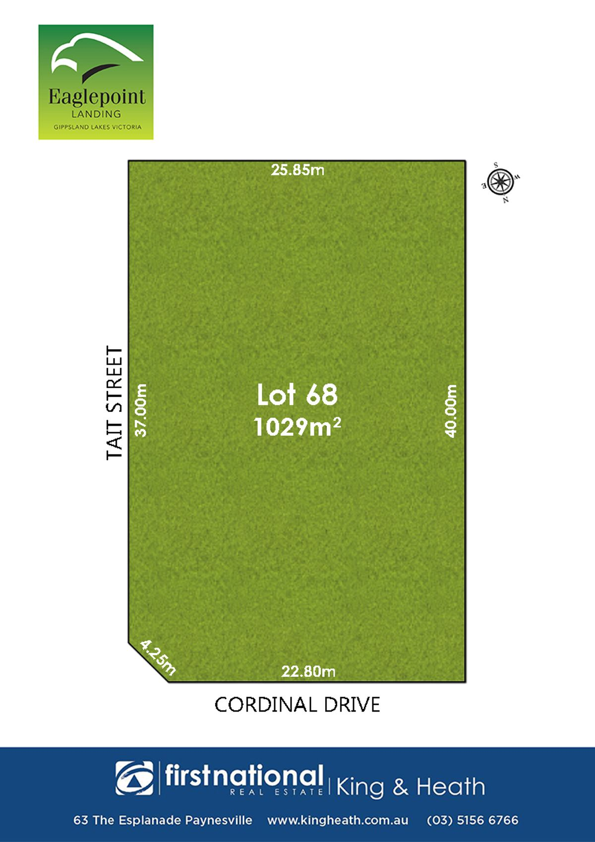Lot 68, 34 Tait Street, Eagle Point, VIC 3878