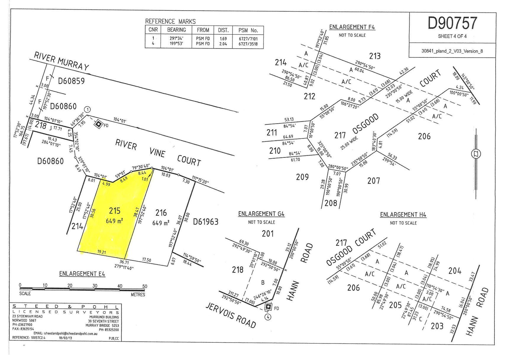 Lot 215 Rivervine Court, White Sands, SA 5253
