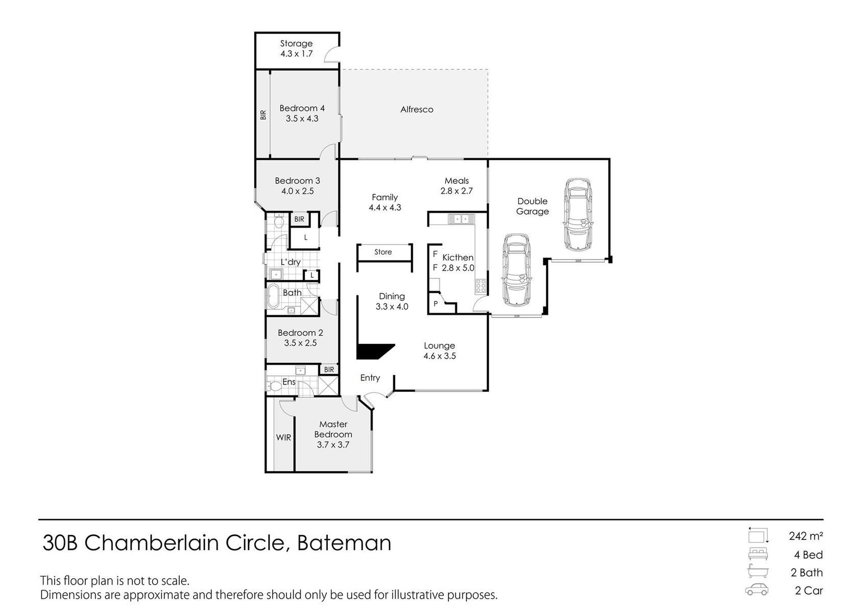 30B Chamberlain Circle, Bateman, WA 6150