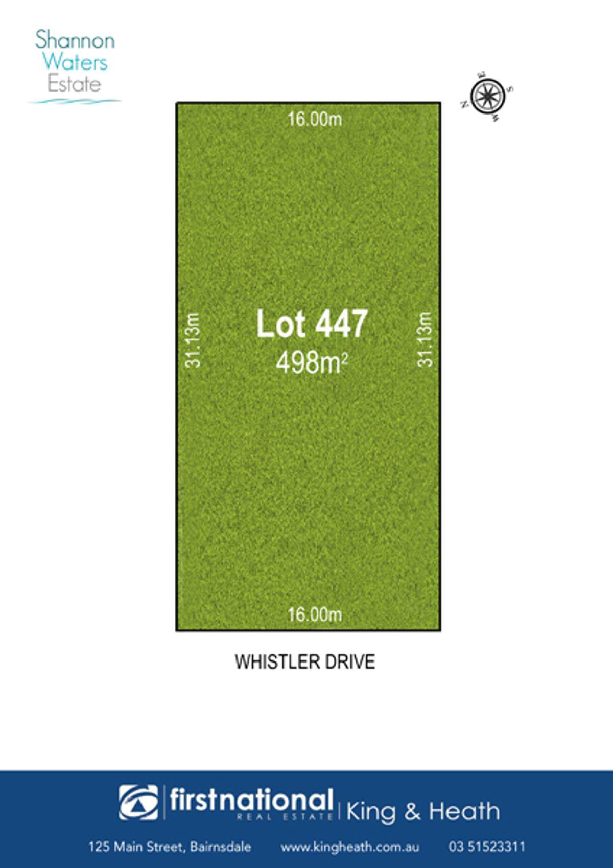 Lot 447 Whistler Drive, Bairnsdale, VIC 3875