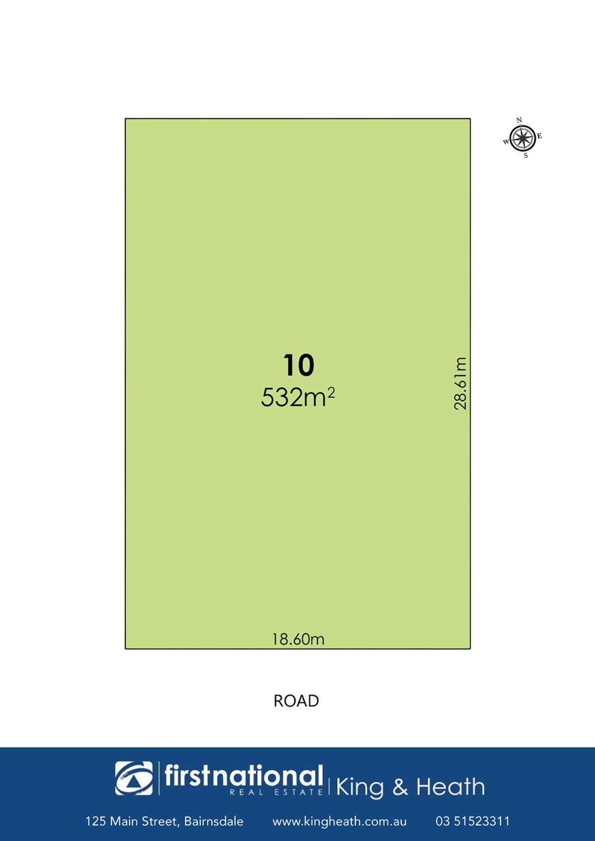 Lot 10, 10 Crooke Street, East Bairnsdale, VIC 3875