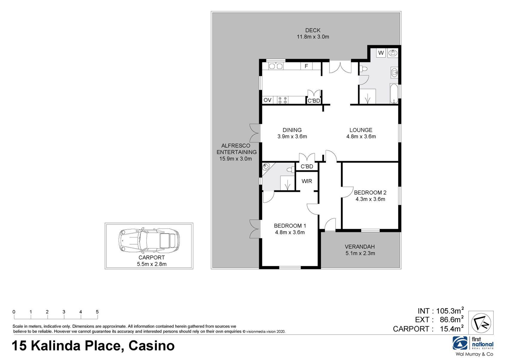 15 Kalinda Place, Casino, NSW 2470