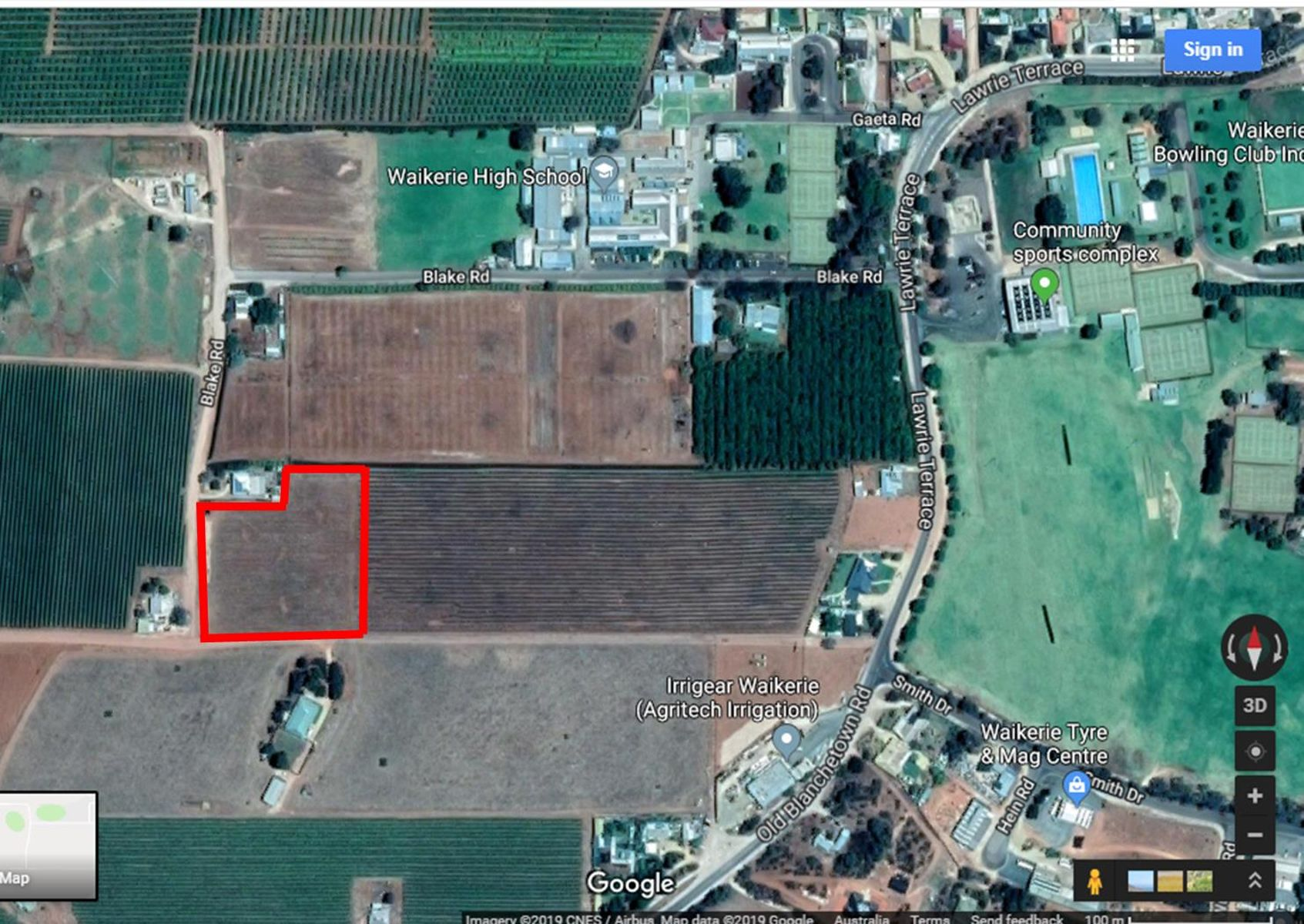 Pieces 50, 51 and 52 Blakes Road, Waikerie, SA 5330