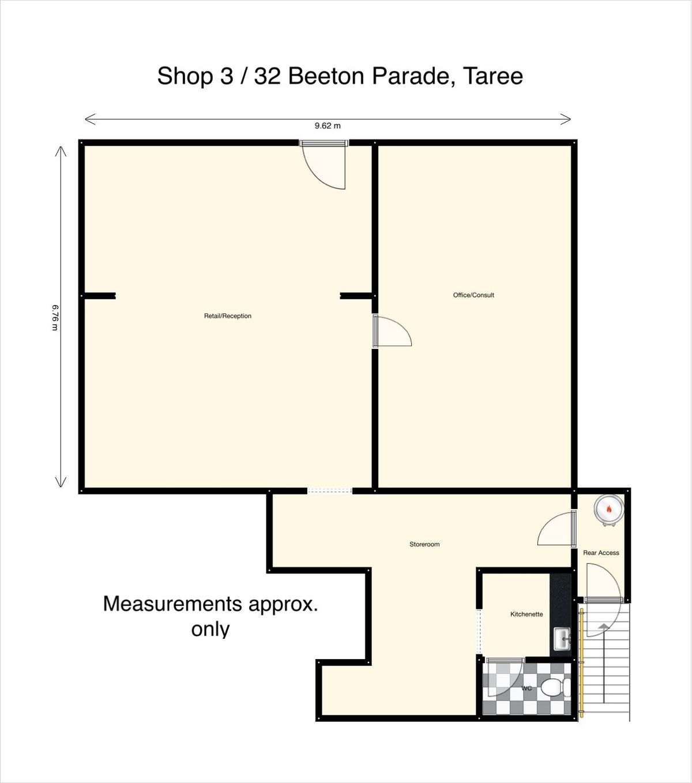 Shop 3/32 Beeton Parade, Taree, NSW 2430