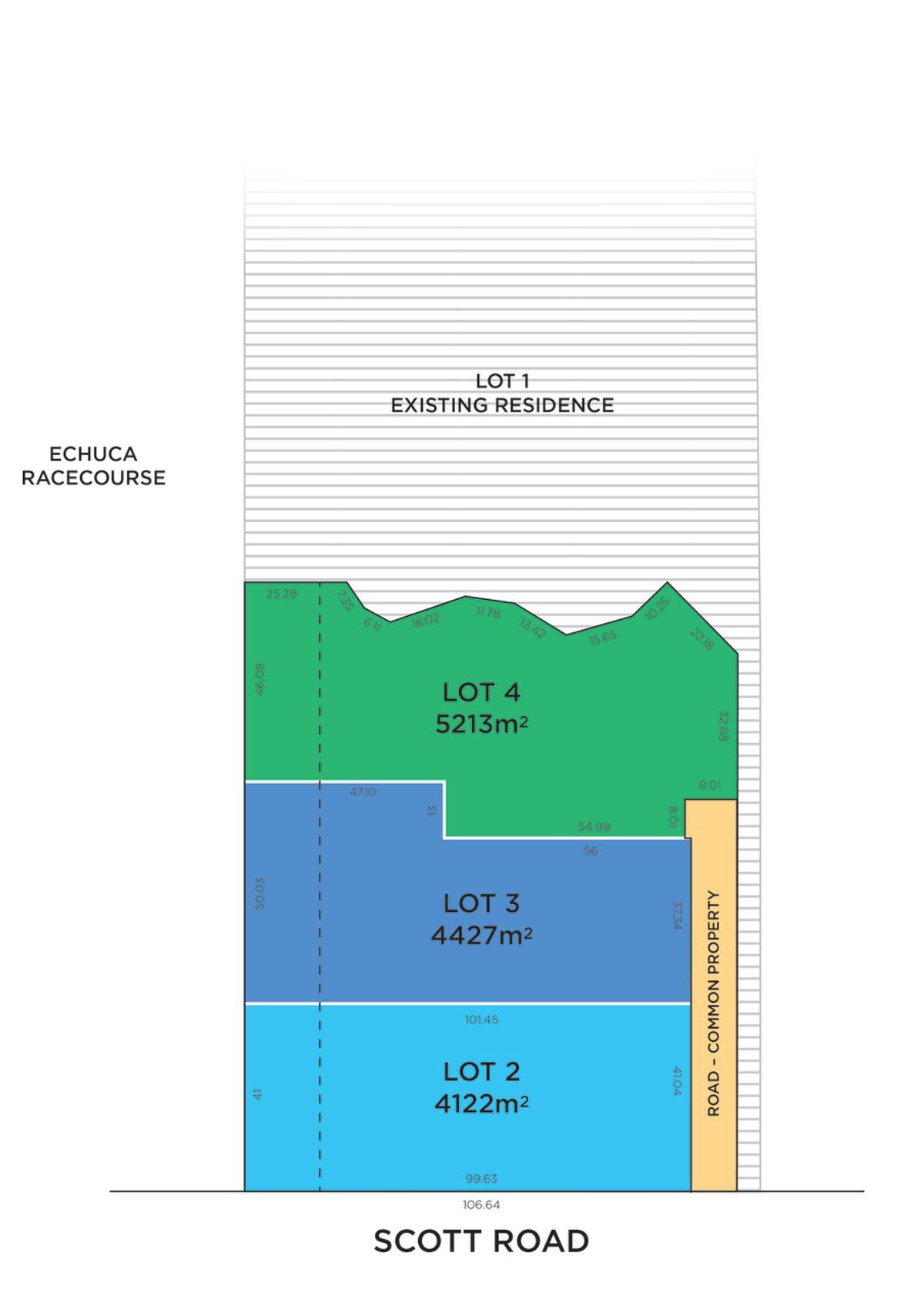 Lot 2, 3 & 4/108 Scott Road, Echuca, VIC 3564