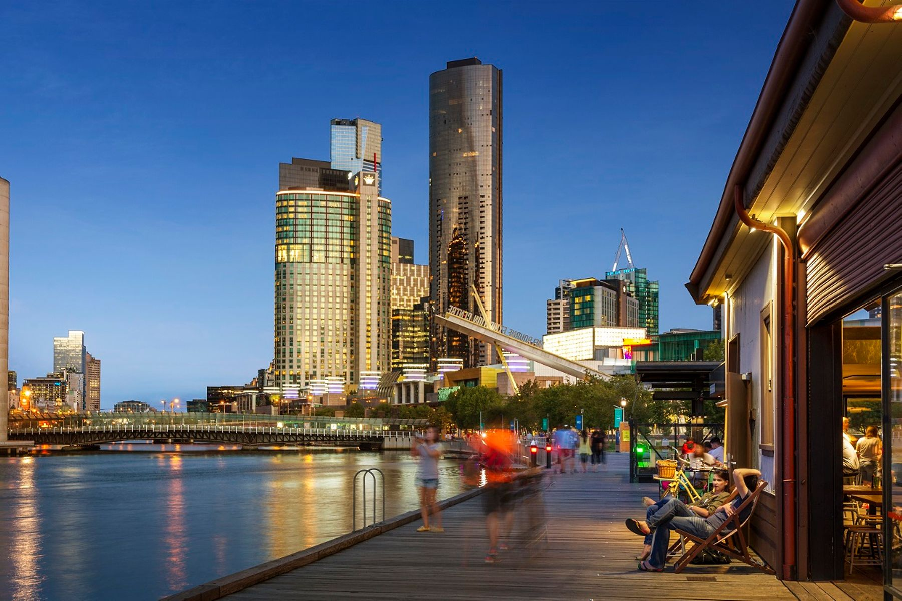 South Wharf & Crown Casino