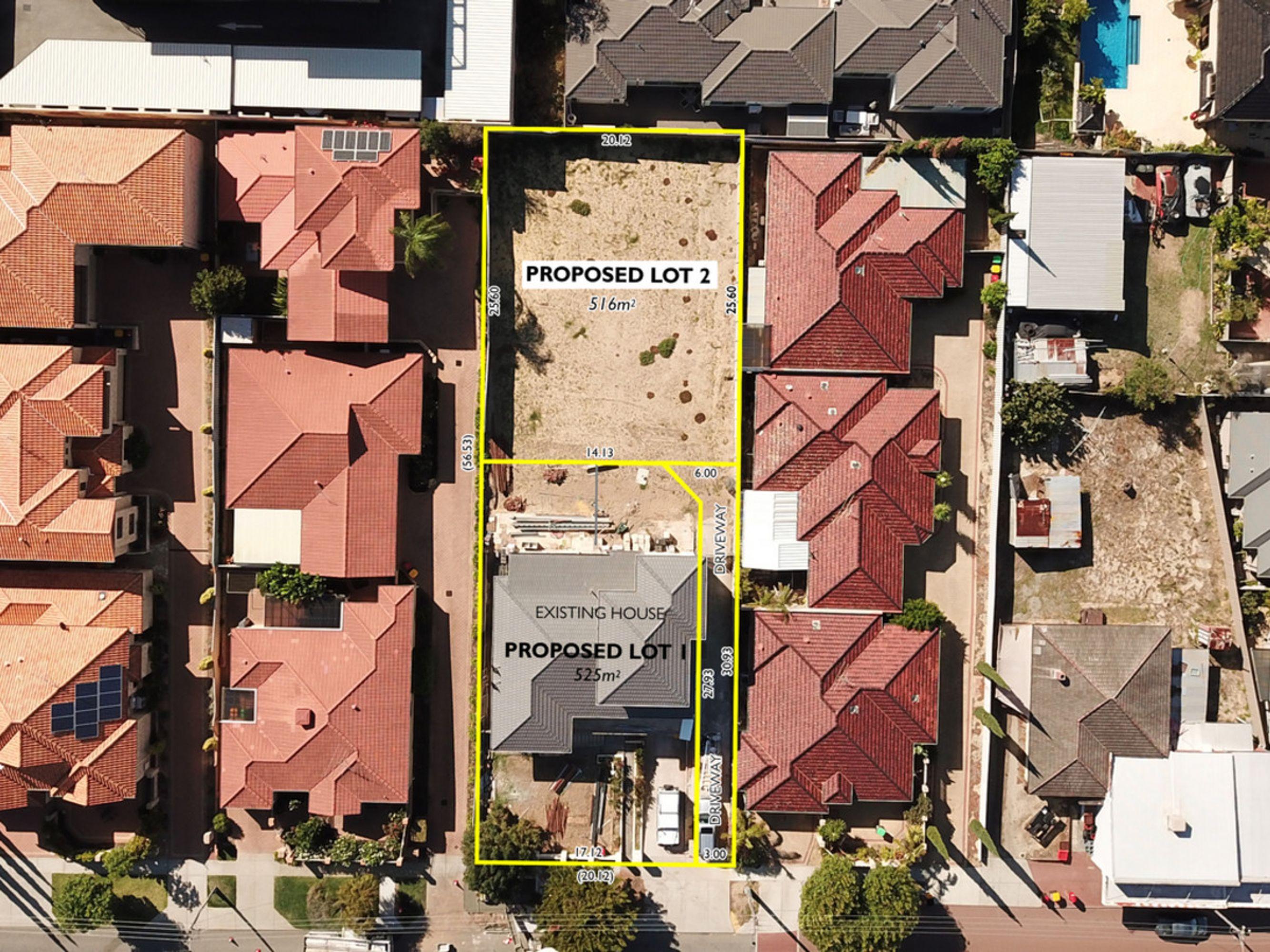 Proposed Lot 2 of 71 Powell Street, Joondanna, WA 6060