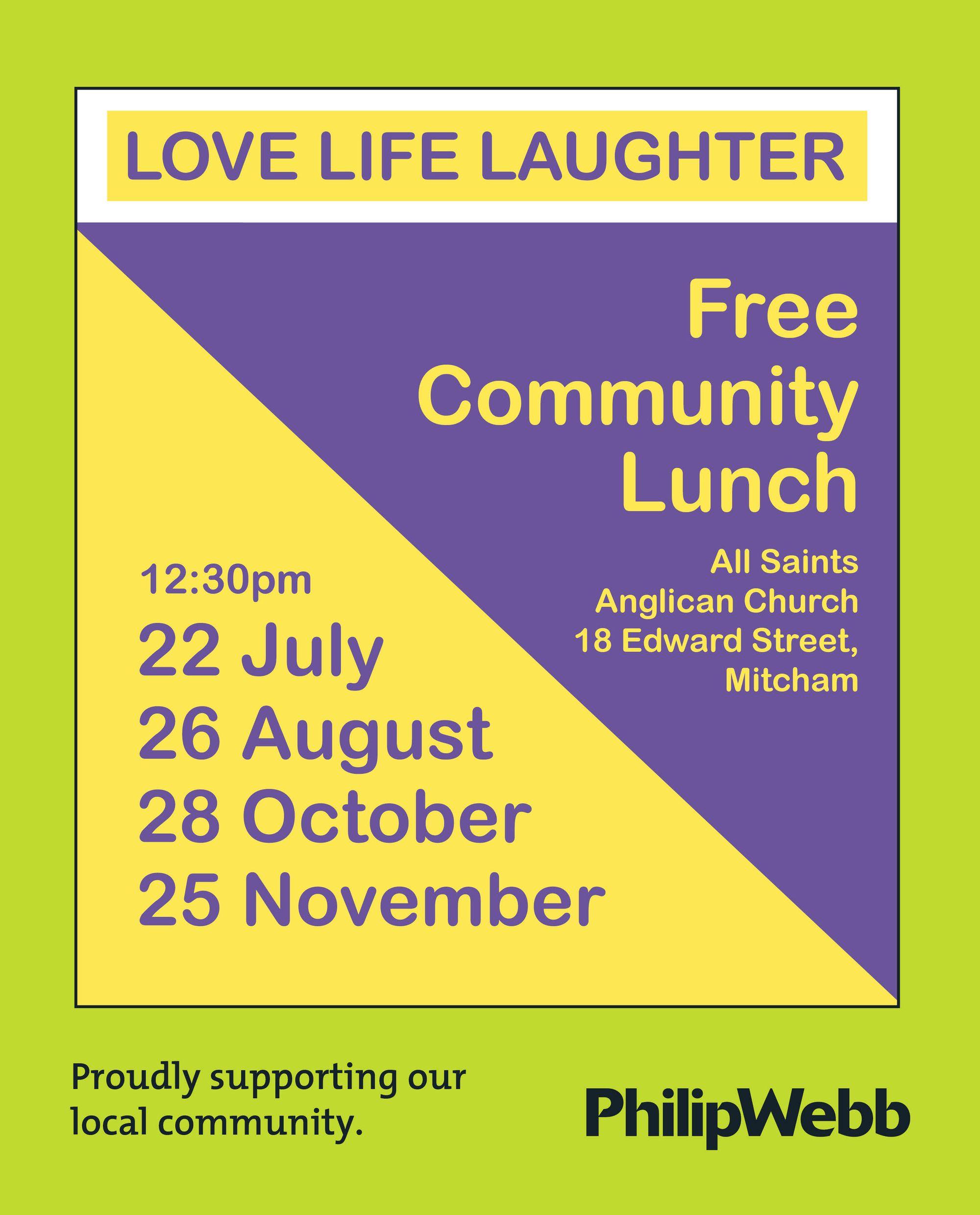 Free Community Lunch
