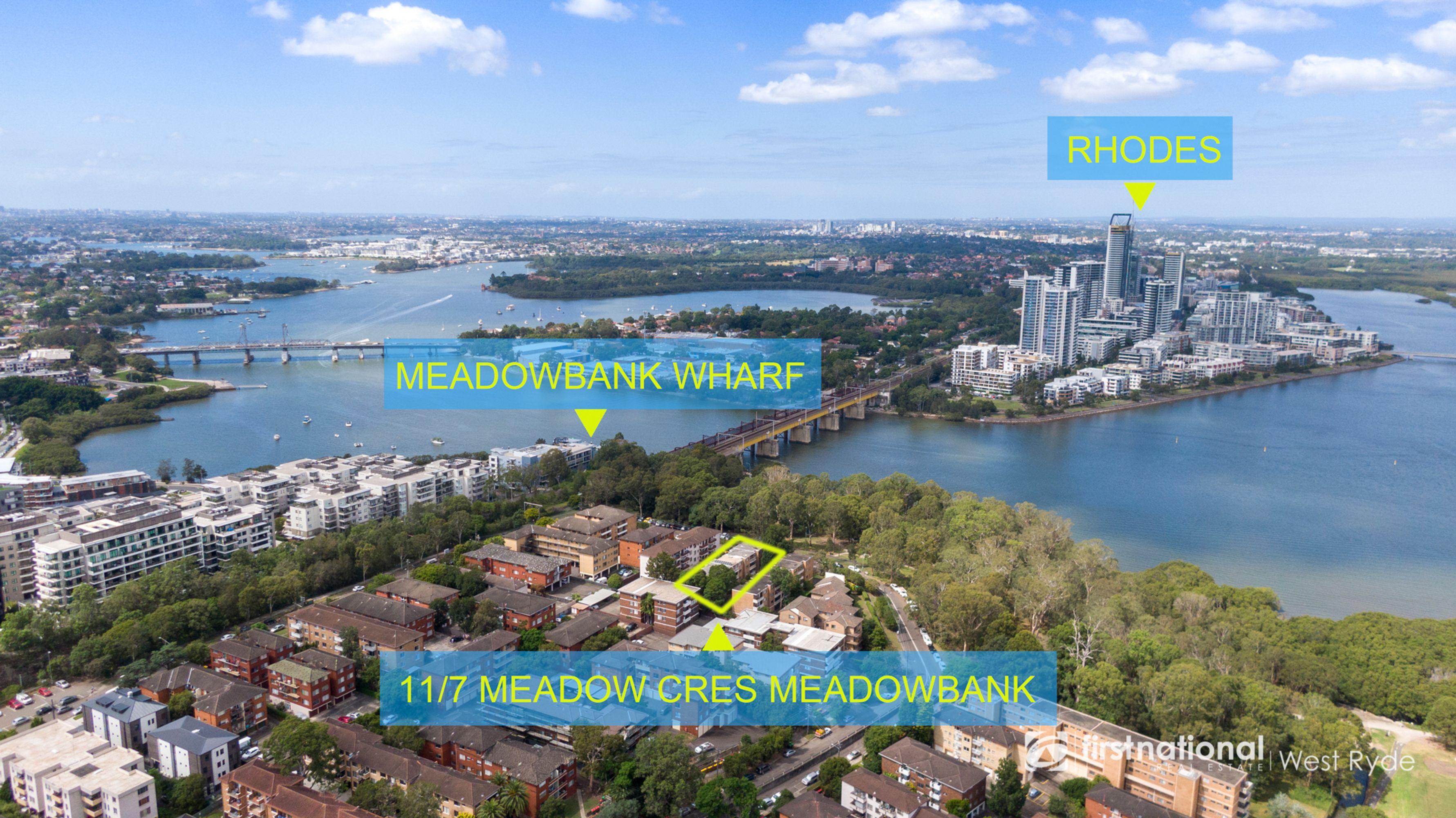 11./7 Meadow Crescent, Meadowbank, NSW 2114