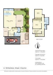 Floor Plan   Unit 4, 30 Banksia Street, Clayton