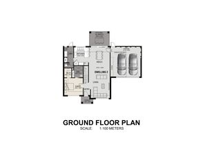 PGS002  2 Kirby Court Dwelling 2 Ground Floor Plan updated 16 07 21