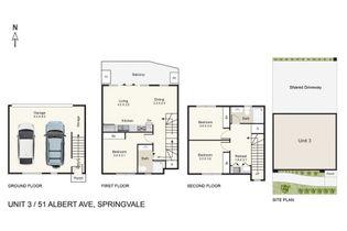 Floor Plan   Unit 3 51 Albert Avenue