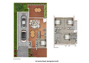 42 Hosken Street Springvale Project Townhouse 3 Floor Plan Web
