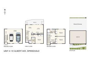 Floor Plan   Unit 4 51 Albert Avenue
