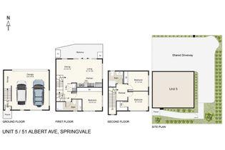 Floor Plan   Unit 5 51 Albert Avenue