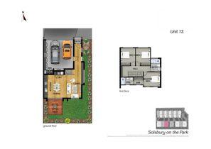 Unit 13 Floor Plan