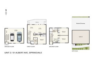 Floor Plan   Unit 2 51 Albert Avenue