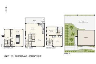 Floor Plan   Unit 1 51 Albert Avenue