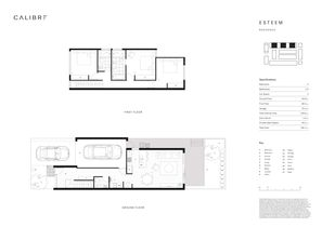 Esteem Floor Plan