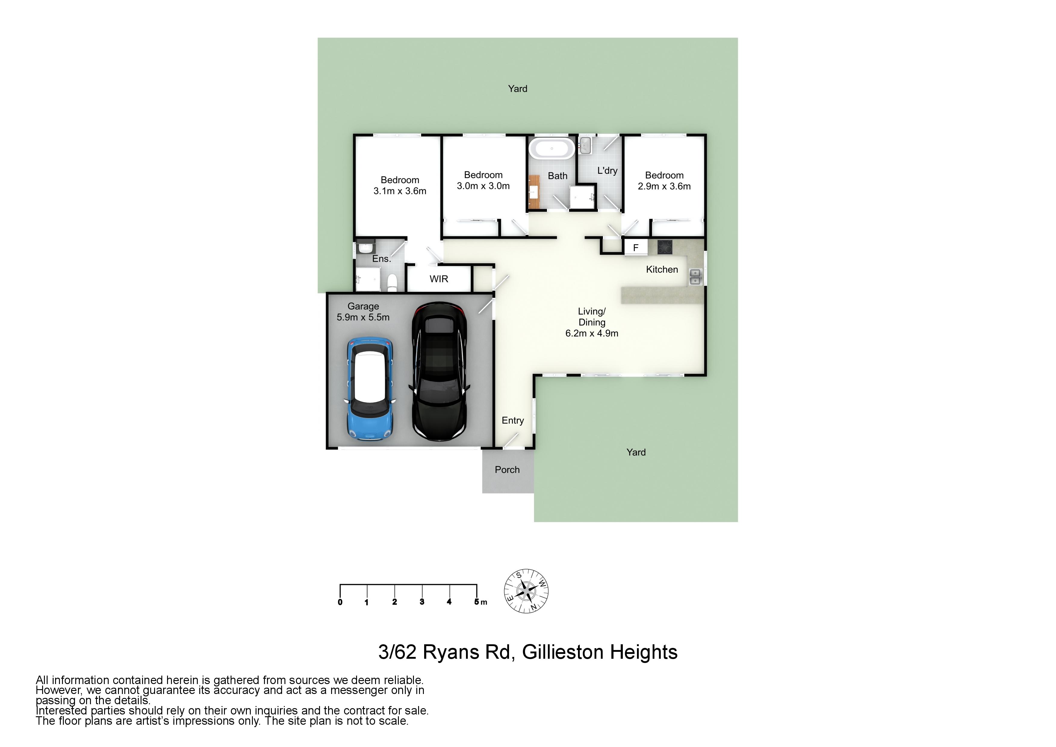 3/62 Ryans Road, Gillieston Heights, NSW 2321