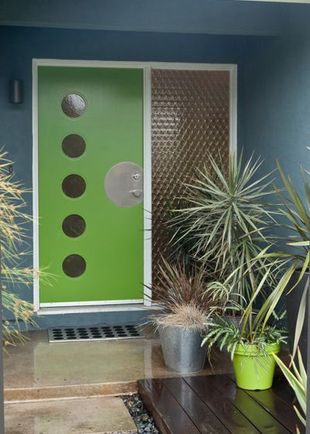 Midcentury Entry by Kropat Interior Design