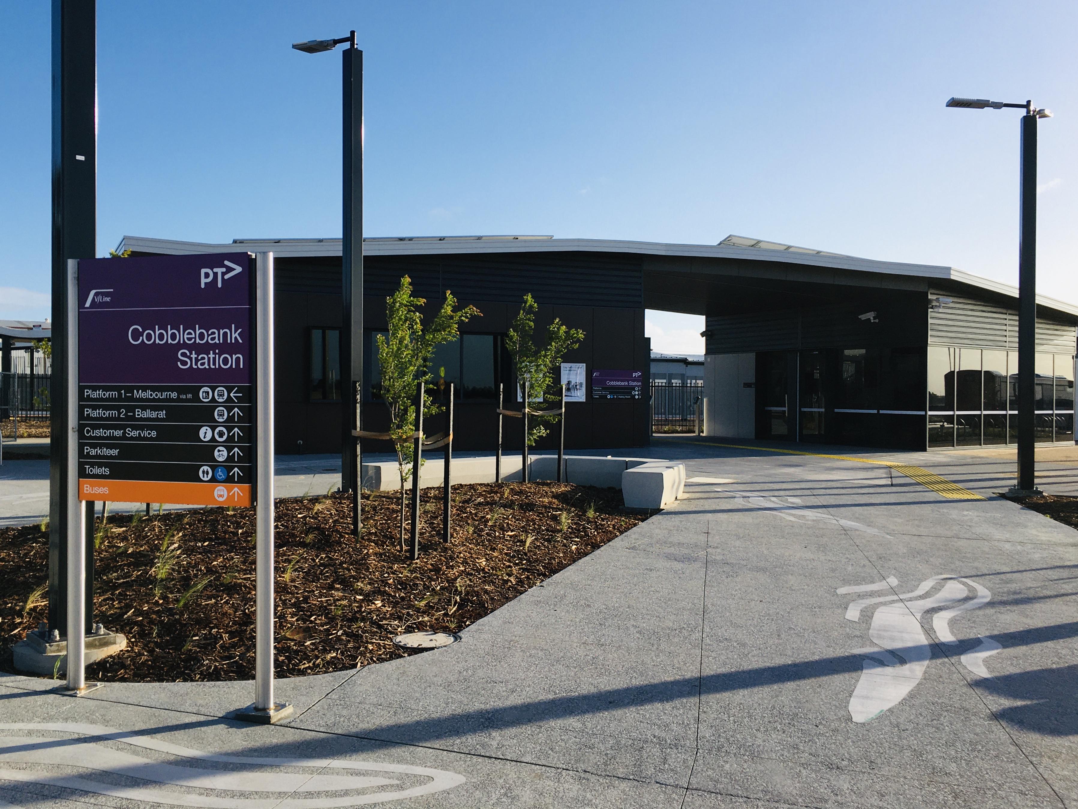 Cobblebank Station Building 2 December 2019