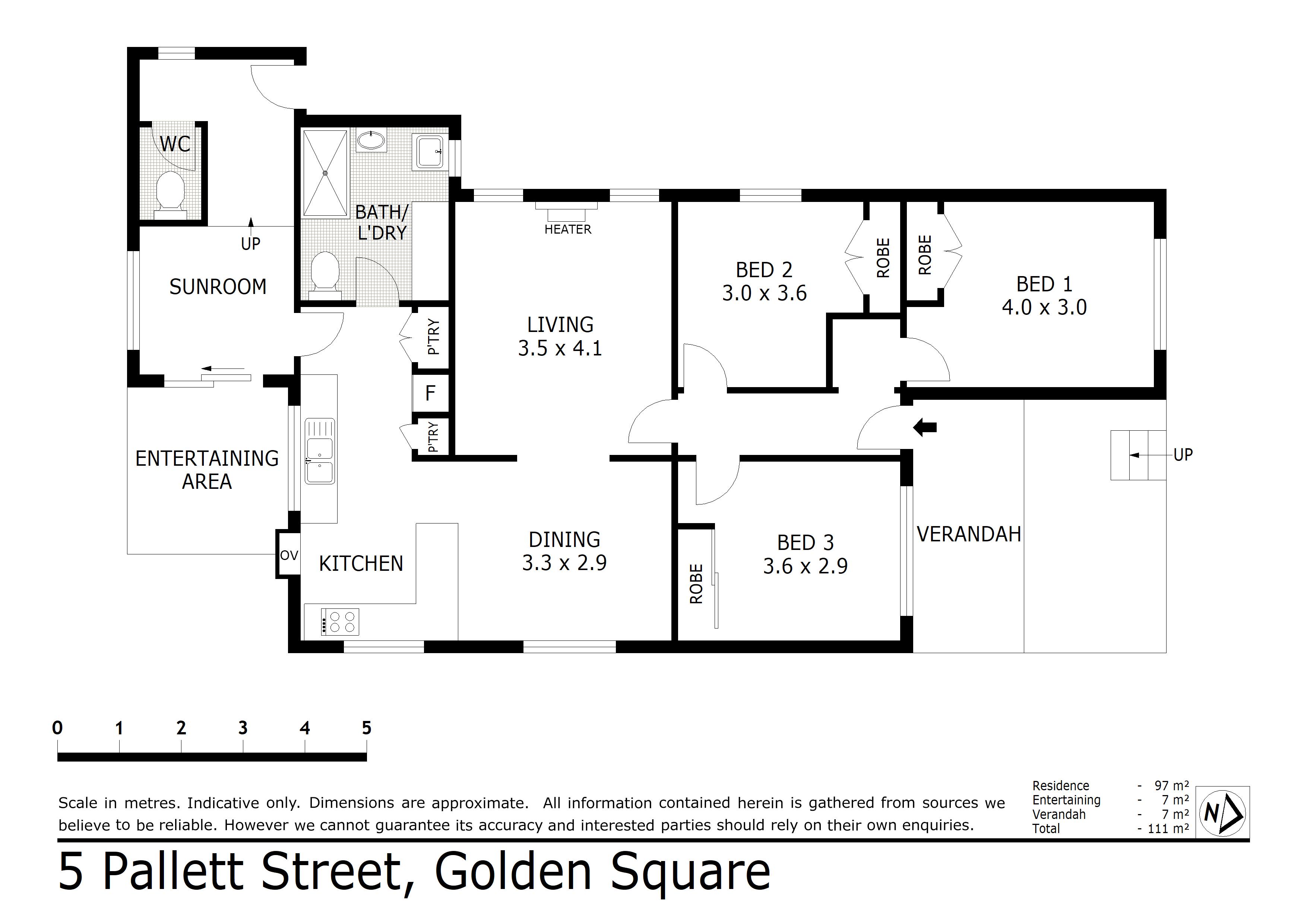 5 Pallett Street, Golden Square, VIC 3555