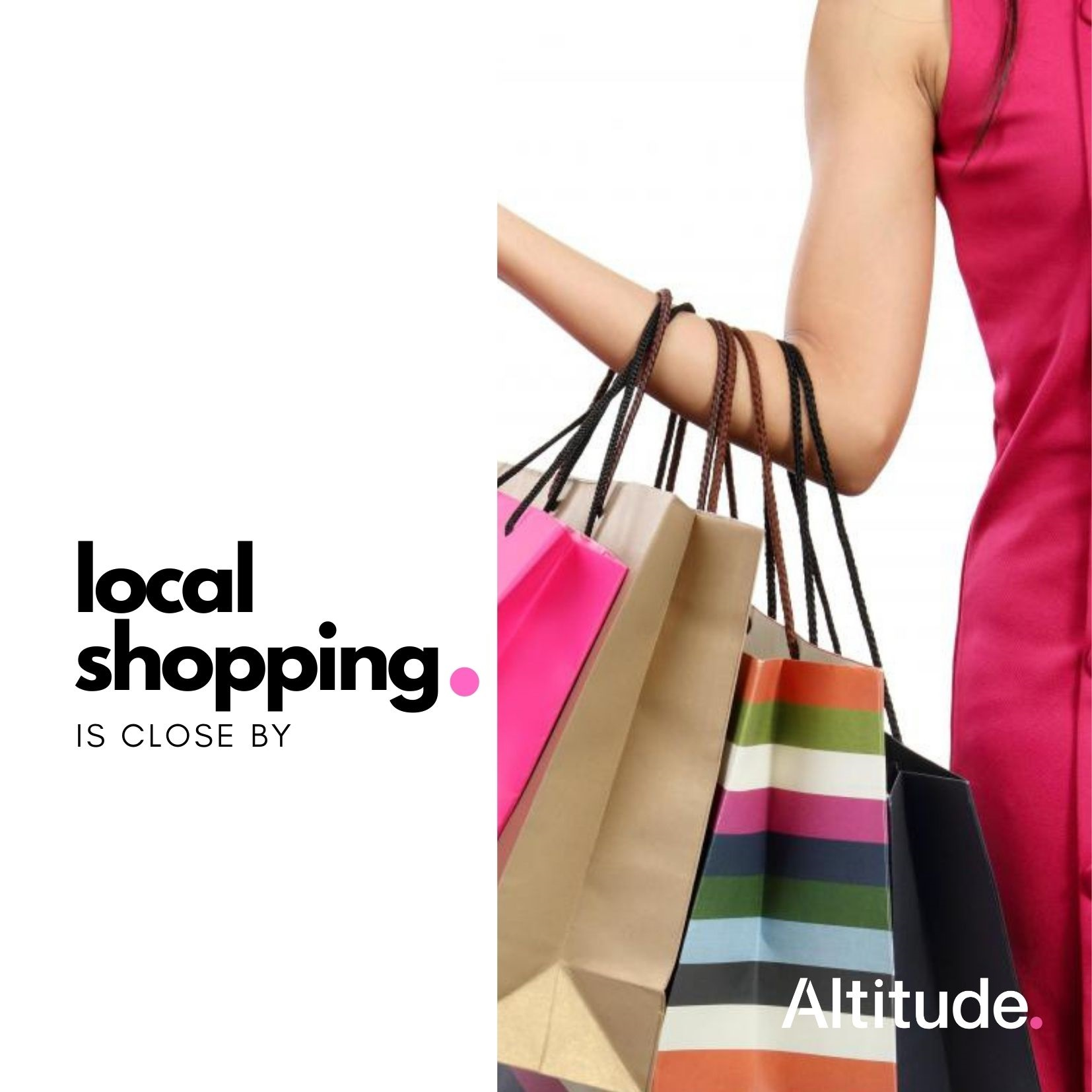 Leasing Campaign   Local Shopping Close By