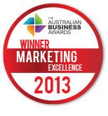 2013 Winner - Marketing Excellence
