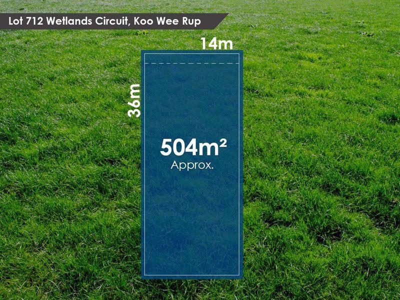 Lot 712 Wetlands Circuit, Koo Wee Rup, VIC 3981
