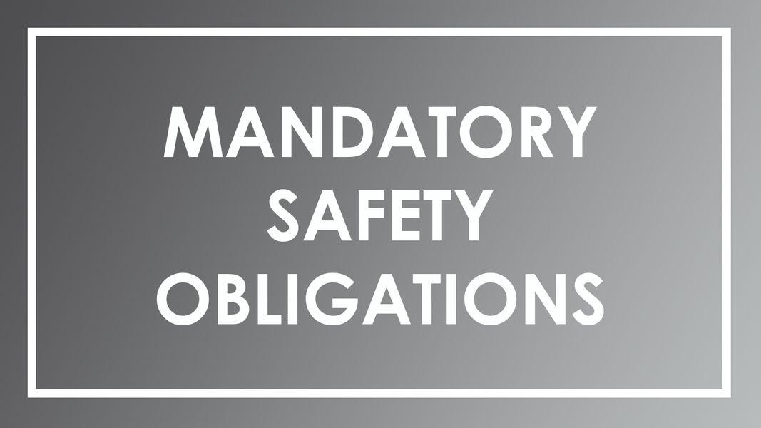 Safety Obligations