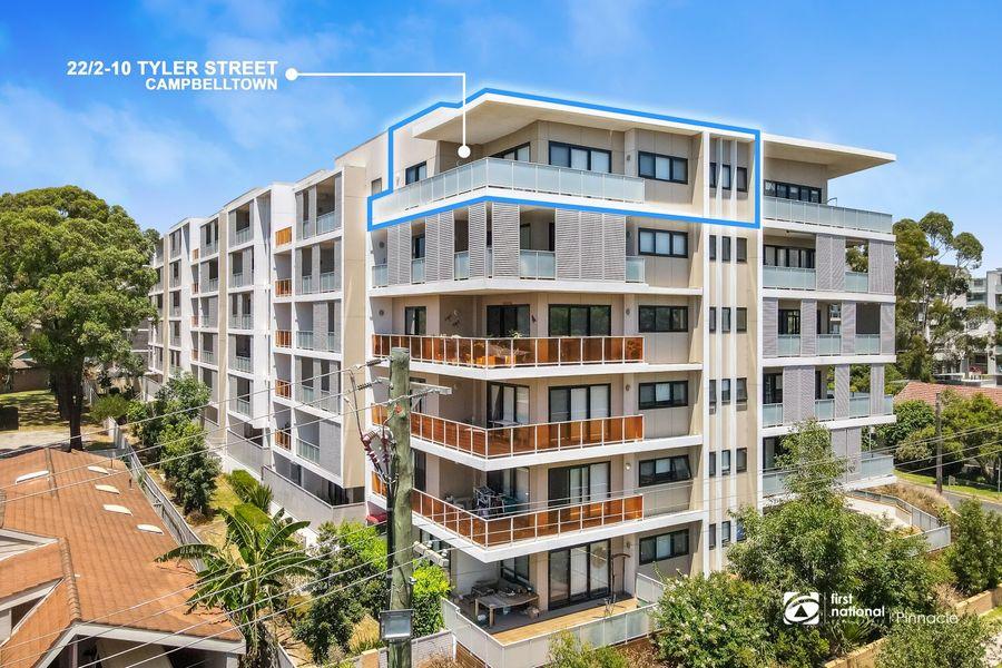 22/2-10 Tyler Street, Campbelltown, NSW 2560