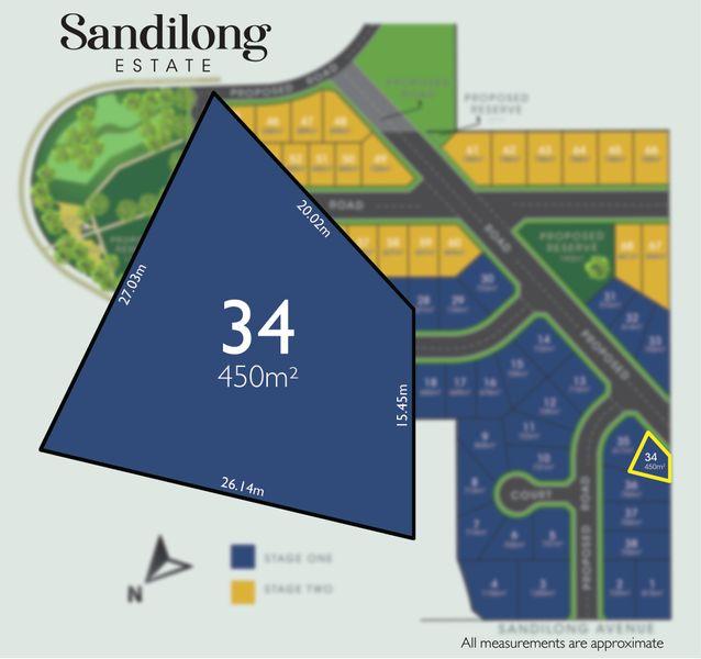 Lot 34/700 Sandilong Avenue, Irymple, VIC 3498