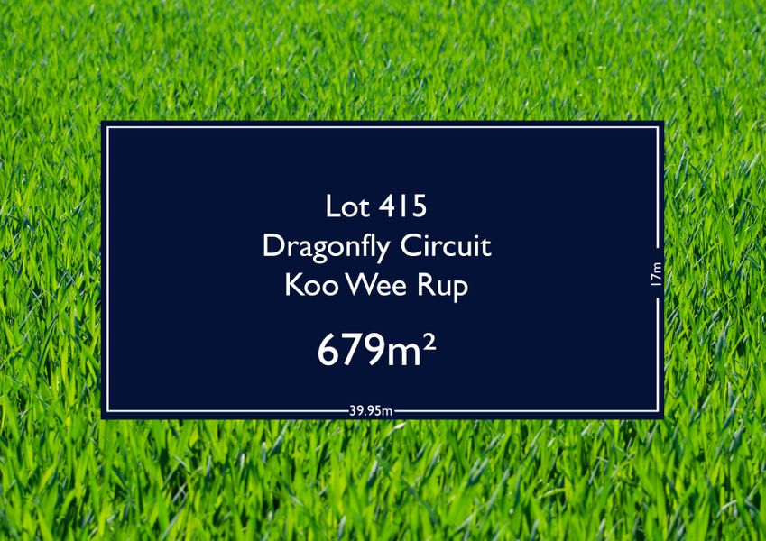 Lot 415 Dragonfly Circuit, Koo Wee Rup, VIC 3981