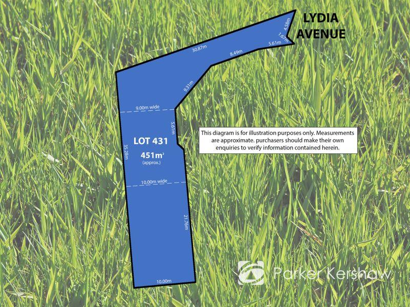 Lot 431  7 Lydia Avenue, Ingle Farm, SA 5098