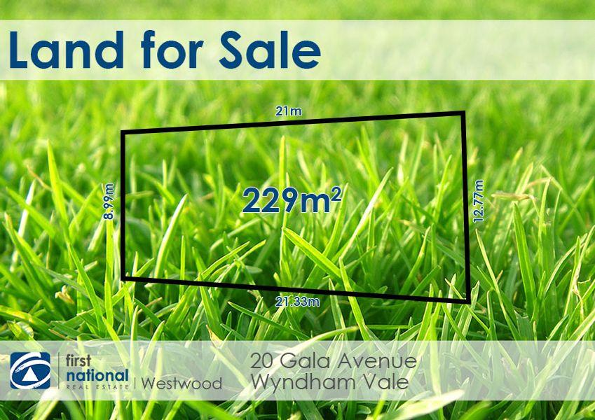 20 Gala Avenue, Wyndham Vale, VIC 3024