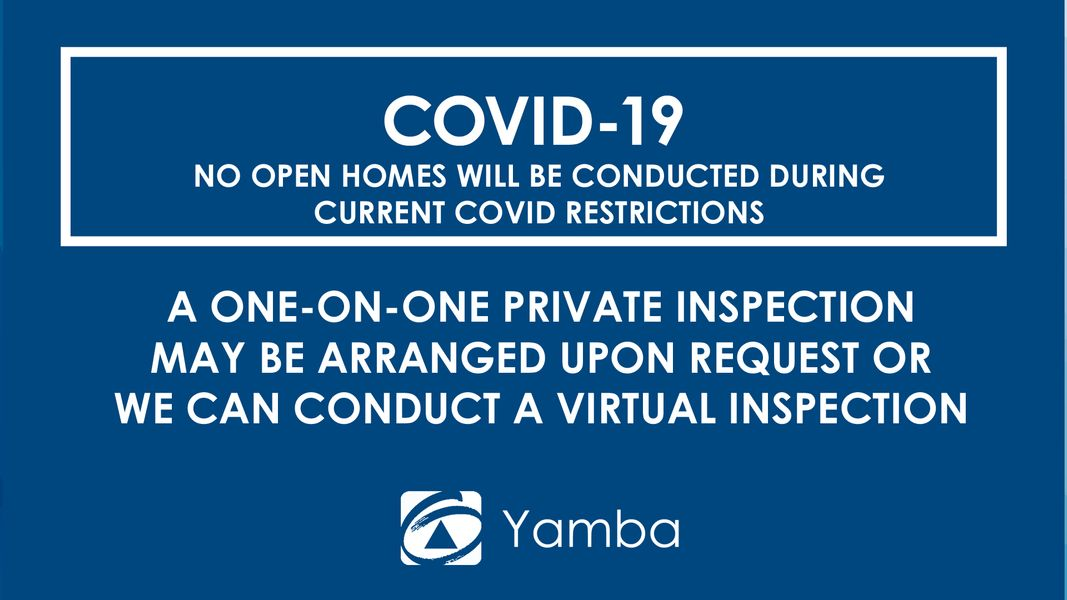 COVID Private Inspections Only