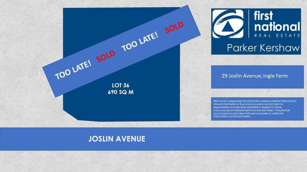 29 Joslin Avenue, Ingle Farm, SA 5098