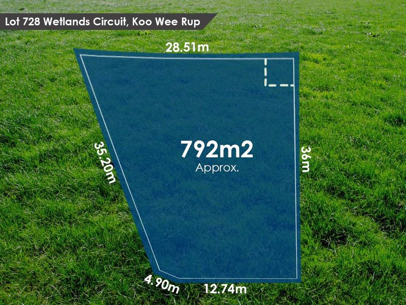 Lot 728 Wetlands Circuit, Koo Wee Rup, VIC 3981