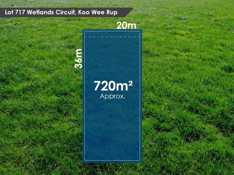 Lot 717 Wetlands Circuit, Koo Wee Rup, VIC 3981