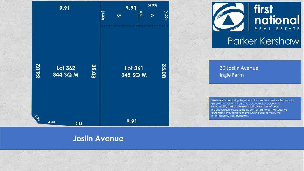 LOT 362, 29 Joslin Avenue, Ingle Farm, SA 5098